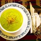Cold night? Have an avocado cream soup